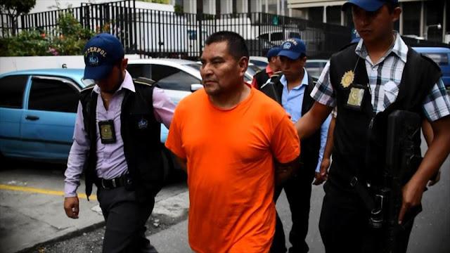 EEUU deporta a exmilitar guatemalteco buscado por masacre