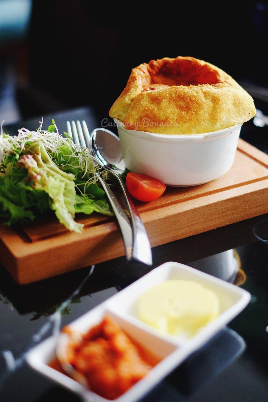 Truffled Cheese Souffle (www.culinarybonanza.com)