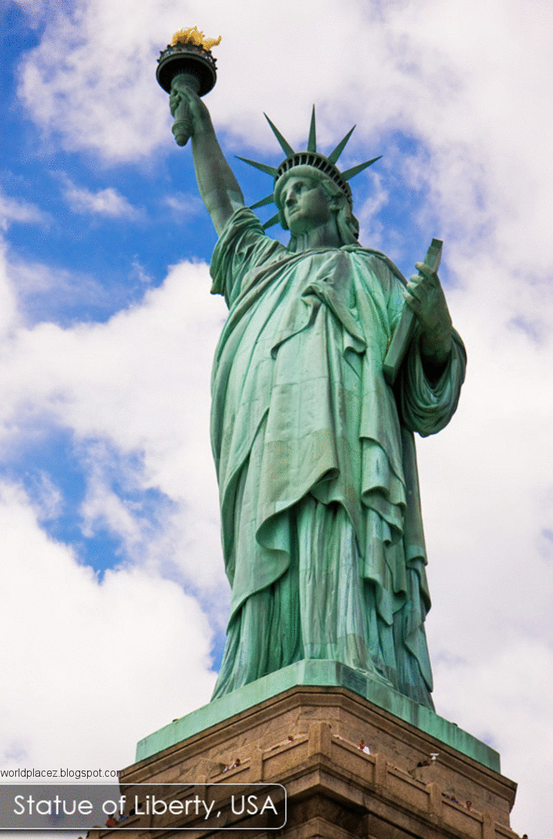 Art Line Statue Liberty