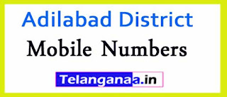 Bela Mandal ZPTC MPP MPTC Mobile Numbers List Adilabad District in Telangana State
