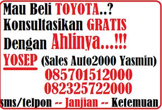 Informasi Harga Terbaru Toyota bulan November 2016 di Bogor