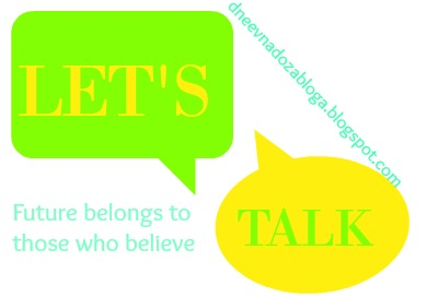 LET'S TALK #4: Future belongs to those who believe in their dreams