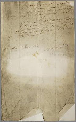 Huwelijksakte Thomas van Straaten x Catharina Elisabeth van Nieuwland
