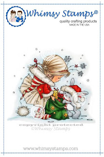 Santa's Helpers Rubber Cling Stamp