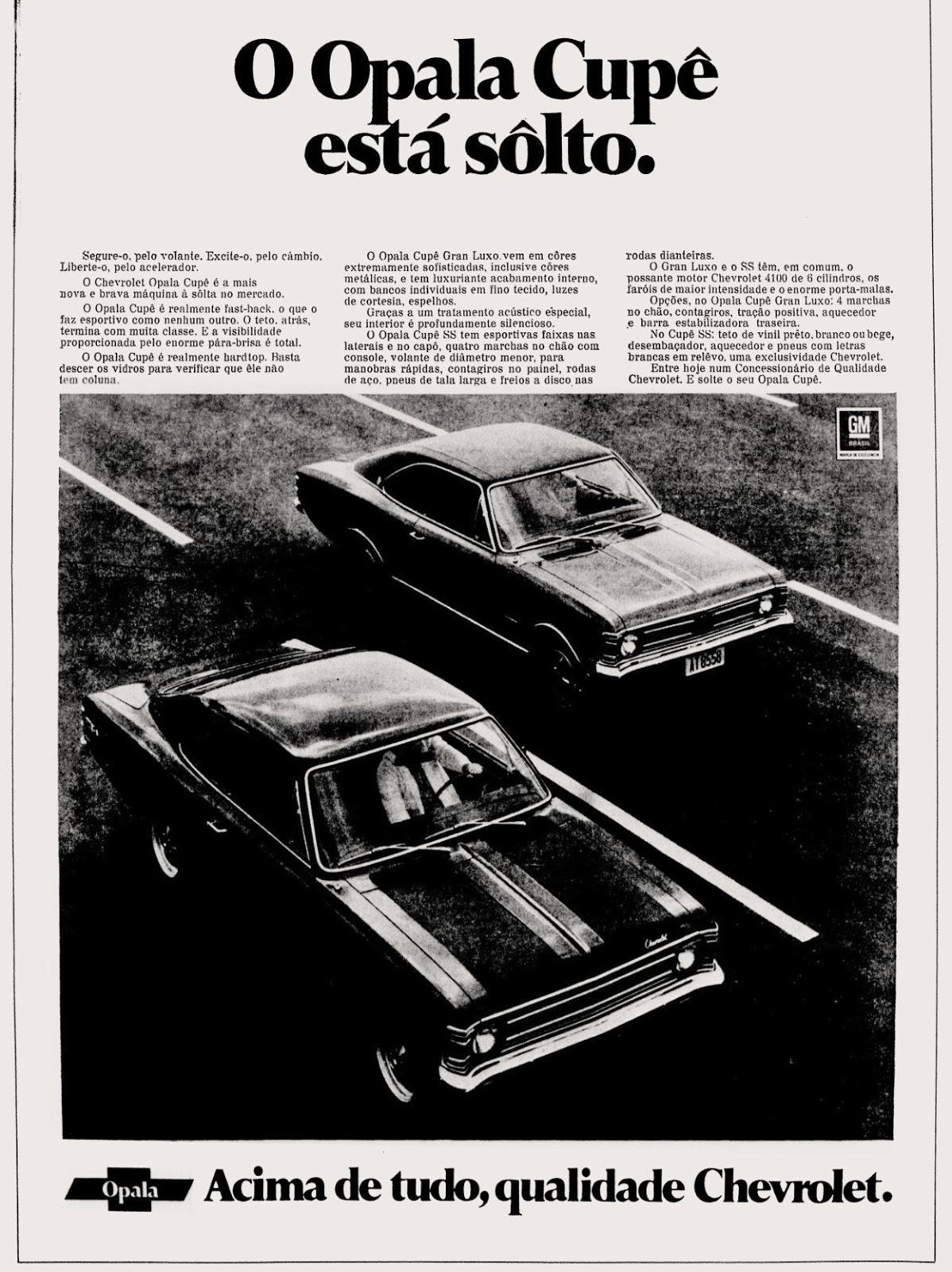 propaganda anos 70; história da década de 70; brazilian cars 70; Oswaldo Hernandez