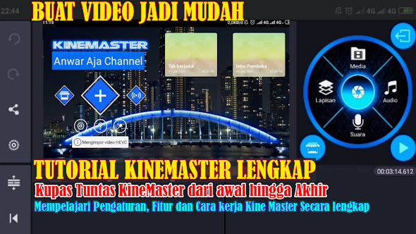 Tutorial Lengkap KineMaster