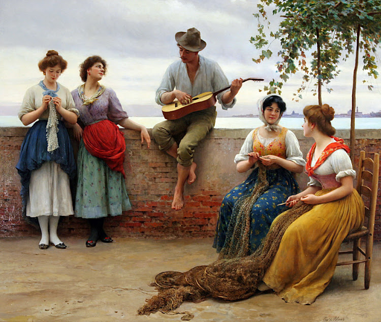 Eugene de Blass - The Serenade 1910