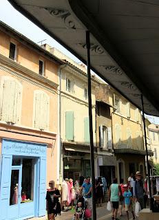 Calles de Saint Rémy de la Provence. La Camarga