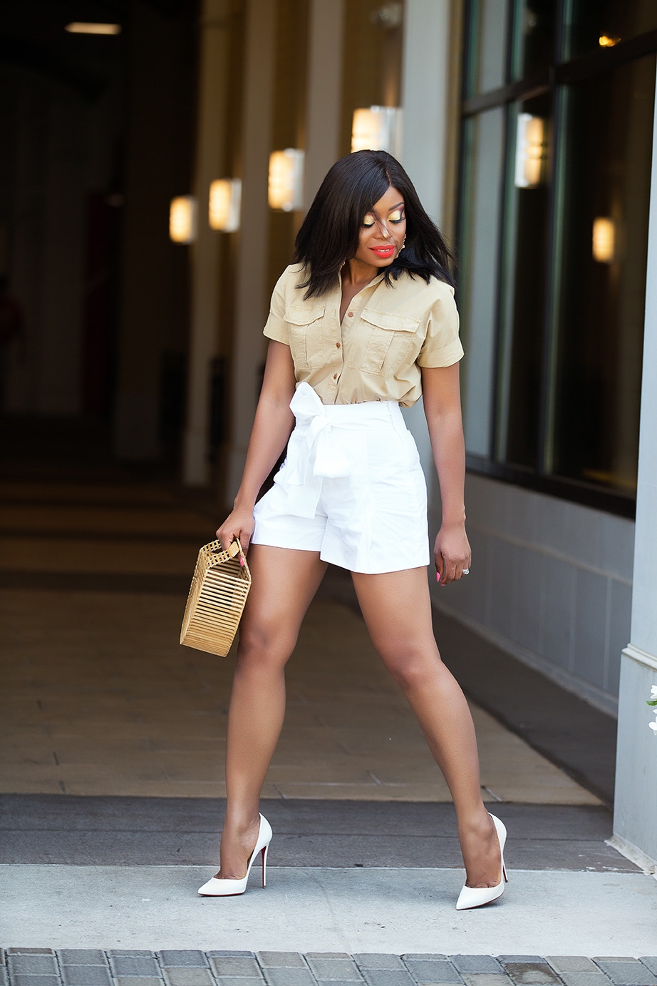 white and beige: summer neutral, www.jadore-fashion.com