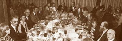 Cena Homenaje a Joan Torquet en 1979