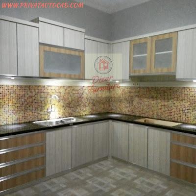 harga kitchen minimalis per meter