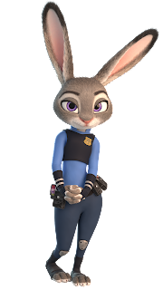 Officer Judy Hopps © Disney Zootopia