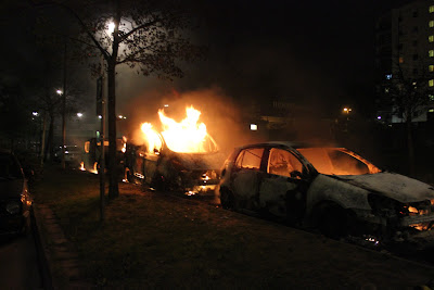 Immigrant riot in Stockholm suburb, 2013