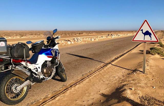 Road To Dakar con la Africa Twin: Un viaje de Roberto Peregrin (III)