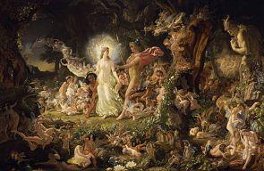 Querella de Oberón y Titania, de Joseph Noel Paton