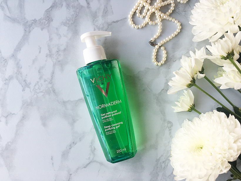 Vichy Normaderm deep cleansing gel review