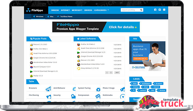 Filehippo blogger template blogger templates 2018 best free filehippo blogger template is specially crafted for those who are going to create one new softwares games or apps website if you ever wondering about how maxwellsz