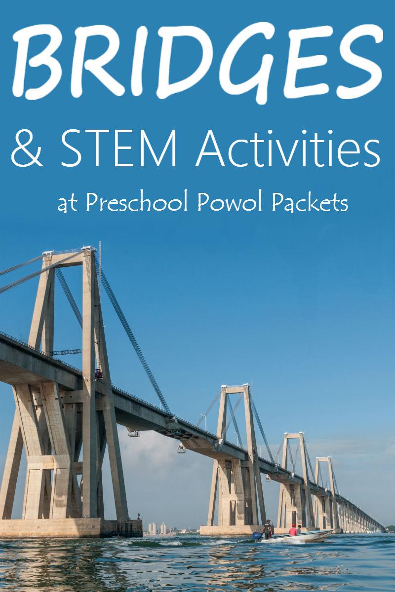 Bridge Challenge Stem Activities Preschool Powol Packets