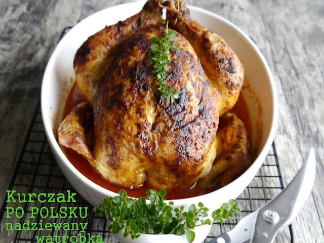 Kurczak po polsku nadziewany wątróbką  - Czytaj więcej »