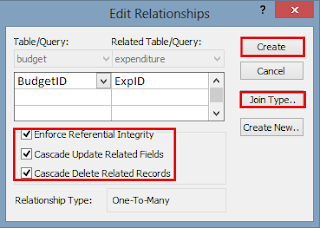 edit table relationship dialogue box