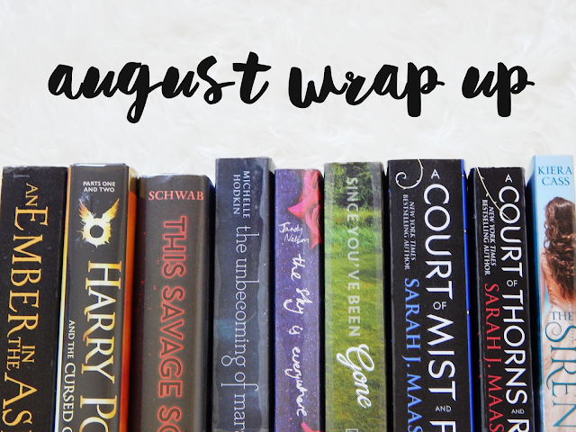 August Wrap Up | sprinkledpages