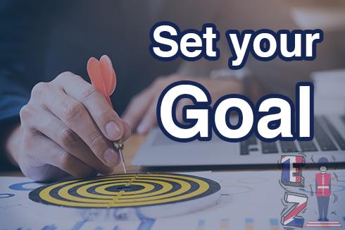 three goals to learn English language