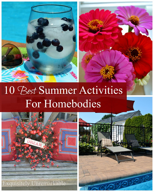 Activities for homebodies in summer