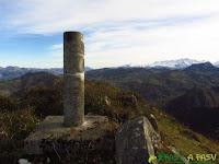 Cima del Pico Torre en el concejo de Piloña