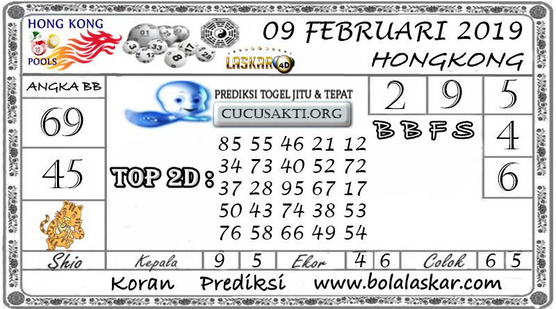 Prediksi Togel HONGKONG LASKAR4D 09 FEBRUARI 2019