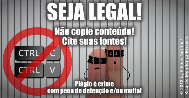 Plágio é crime!
