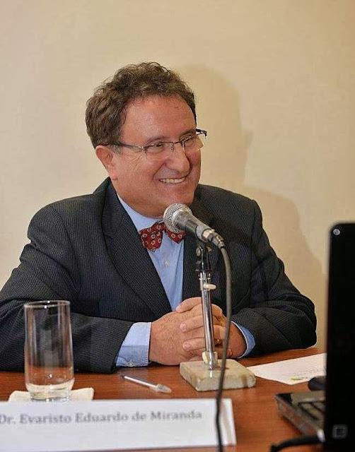 Evaristo de Miranda, chefe geral da EMBRAPA Monitoramento por Satélite demonstrou, mais uma vez que o Brasil é potência em preservação ambiental