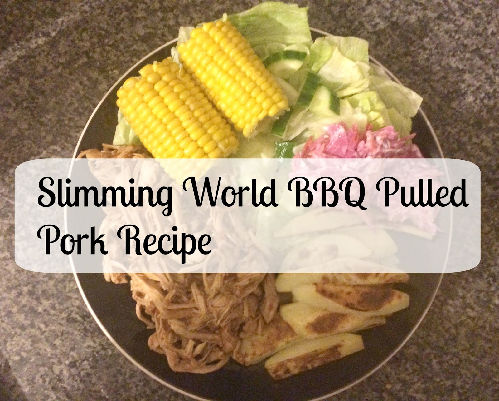 Slimming World Syn Free Bbq Slow Cooked Pulled Pork Recipe