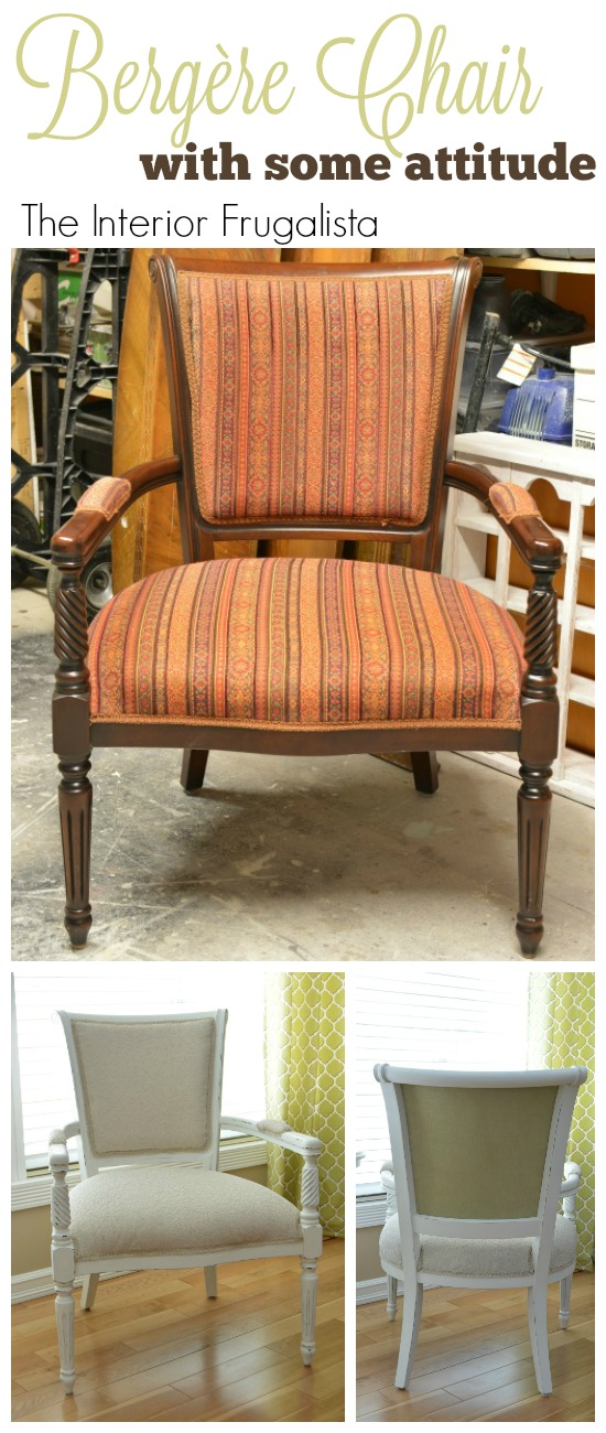 Bergere Chair Makever Before and After