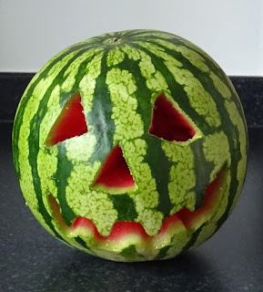 Jack-o-melon for Summerween 2017