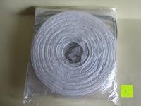 """Verpackung: LIHAO 8"""" weiße runde Papier Laterne Lampion Lampenschirm Hochtzeit Party Dekoration Ballform - (10er Packung)"""