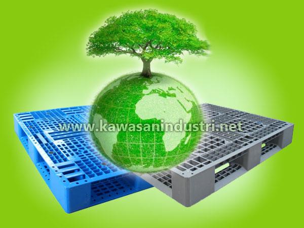 Pallet Plastik Go Green Industri