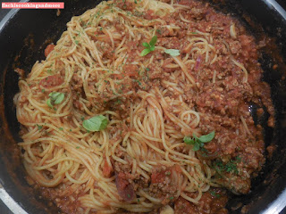 fischiscooking, spaghetti bolognese