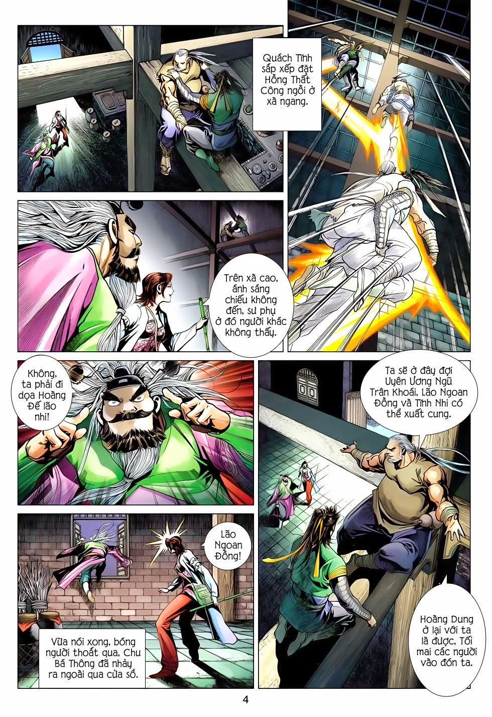 Anh Hùng Xạ Điêu anh hùng xạ đêu chap 56: tuyệt tình vô nghĩa lãnh huyết ác niệm trang 4