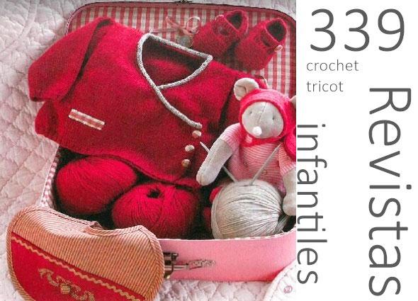 revistas crochet tricot, ganchillo infantil, patrones crochet