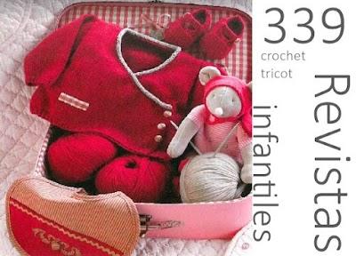 339 Revistas gratis de crochet y tricot infantiles completas