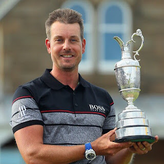 Henrik Stenson with First Major Victory Looks Forward to Compete in 2016 Summer Olympics