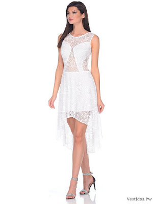 vestidos blancos para graduacion