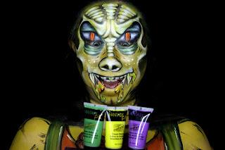 Tutorial-Pop-Art Snake-Face-Painting