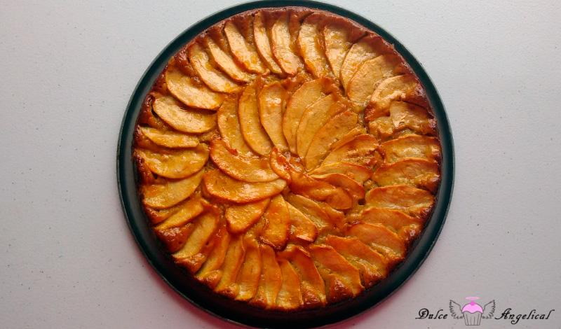 Receta  de la tarta de manzana fácil