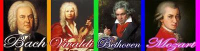 Bach, Vivaldi, Bethoven, Mozart