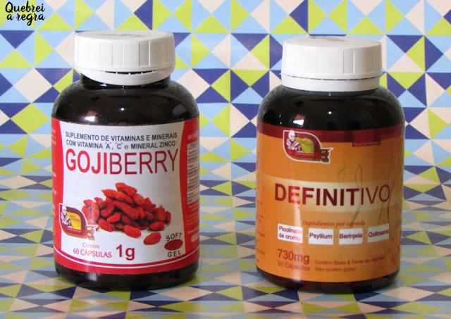 Goji Berry e Definitivo, os suplementos da Centro Natural