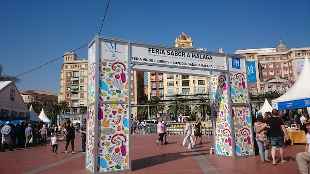 Primera Feria vinos+quesos+AOVE Sabor a Málaga