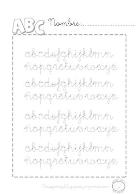 Caligrafia para niños