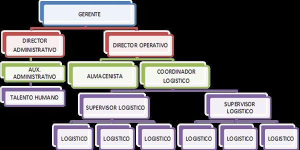 Omnilife organigrama for Vivero estructura