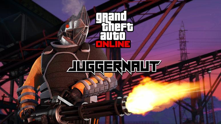 GTA V online natal DLC BRKnerd JUGGERNAUT